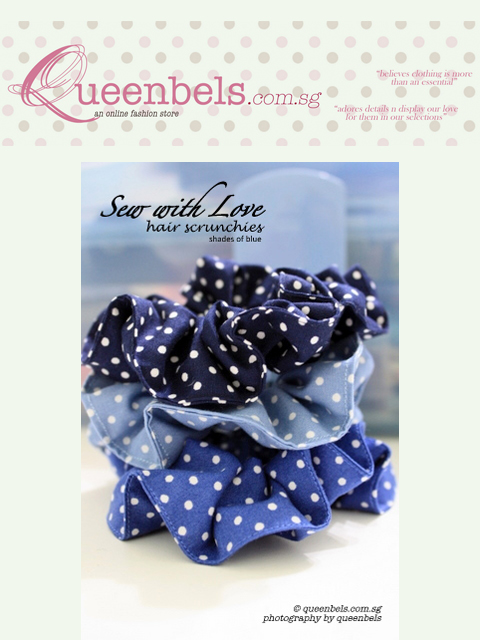 Sew with Love ~ Shades of Blue