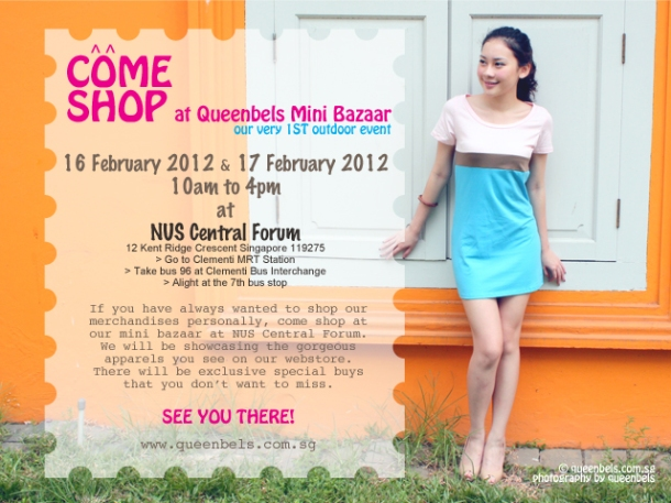 Come Shop at Queenbels Mini Bazaar!