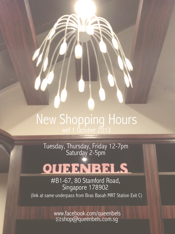 New Shopping Hours