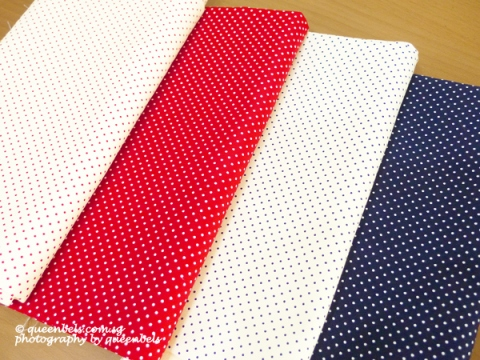 Polka Dots Cotton Twill