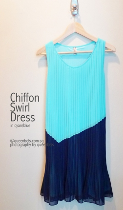 Chiffon-Swirl-Dress-in-Cyan-Blue