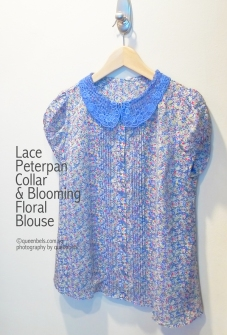 Lace-Peterpan-Collar-&-Blooming-Floral-Blouse
