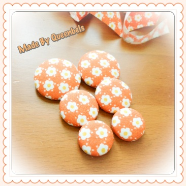 The Good Fortune Fabric Buttons