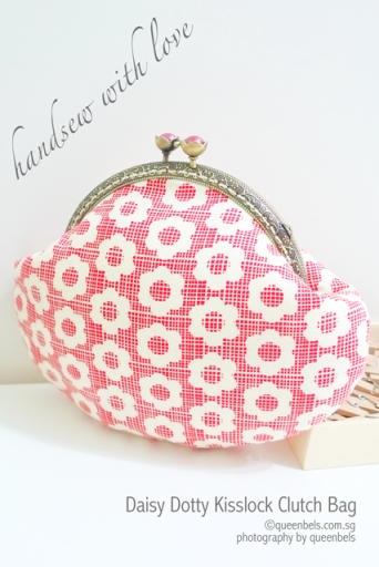 Daisy Dotty Kisslock Clutch Bag
