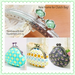 Jade Ruby Kisslock Frame For Clutch Bags