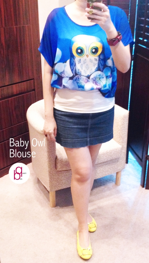 Baby Owl Blouse