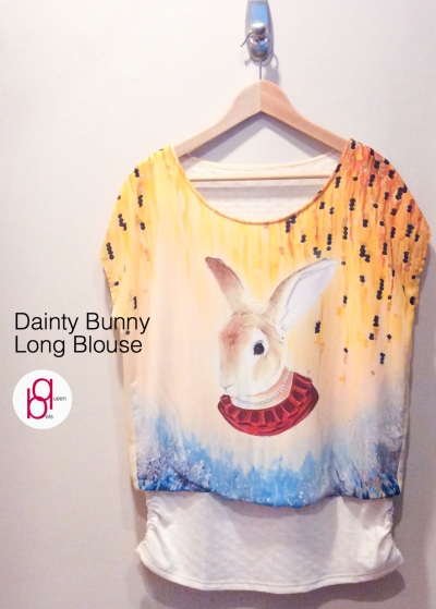 Dainty Bunny Long Blouse
