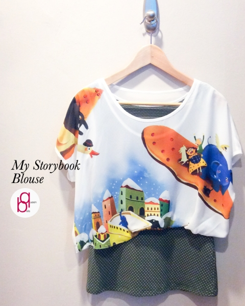 My Storybook Blouse