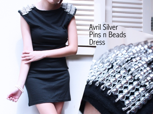 Avril-Silver-Pins-n-Beads-Dress