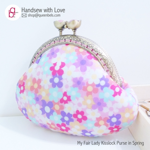 My Fair Lady Kisslock Purse in Spring